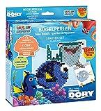 Craze 54506 - Rainbow Beadys Bügelperlen Starter Set Disney Pixar Findet Dorie, 1050 Perlen inklusiv Zubehör, Blau