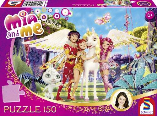 Preisvergleich Produktbild Schmidt Spiele 56034 - Mia and Me, Onchao und seine Freunde, Puzzle, 150 Teile