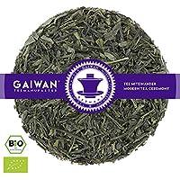 """N° 1372: Thé vert bio""""Shimizu (Japon)"""" - feuilles de thé issu de l'agriculture biologique - 250 g - GAIWAN GERMANY - thé vert au Japon"""