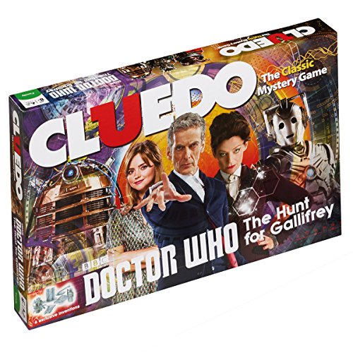 Doctor Who Cluedo Mystery Board Game