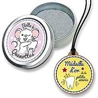 FANS & Friends Boîte à dents de lait avec médaille pour garçons et filles, avec e-book gratuit, Coffret de rangement…