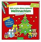 Mein erstes dickes Malbuch Weihnachten (Malbuch ab 2 Jahren)