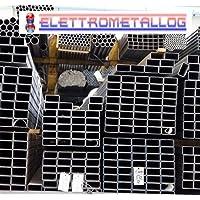 YaeTek 1//2 x 10 12.7mm x 254mm Filettato Raccordo Tubo Nero Capezzoli di tubo Per mobili vintage fai-da-te Malleabile,Tubo dacciaio industriale