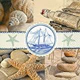 20 Servietten Souvenirs of the Sea – Andenken ans Meer / Maritim / Vintage 33x33cm