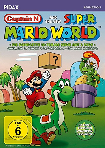 Captain N and the new Super Mario World / Die komplette 10-teilige Serie inkl. Staffel 3 von CAPTAIN N (Pidax Animation) [2 DVDs]