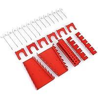 Fixkit Lot de 25 crochets en métal pour outils de garage