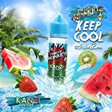 Kanzi Iced 50ml Twelve Monkeys ICE AGE e Liquid Premium, Short Files Shake and Vape 0,00mg Nikotin