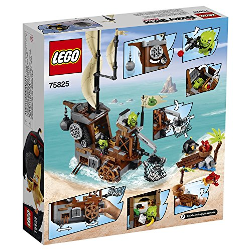 Image of LEGO 75825 Angry Birds Piggy Pirate Ship Building Set