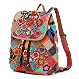 Eysee® Damen Leder Rucksack Schulrucksack Daypacks Outdoor Sports Handtasche Rucksacktasche