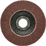 SBS - Lija de abanico (125 mm, grano 60), color marrón