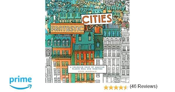 Fantastic Cities Amazoncouk Steve McDonald Books