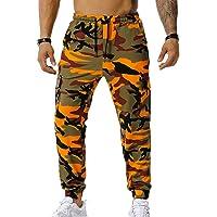 Chickwin Uomo Pantaloni Cargo Pants Camouflage, Classici da Jogging Camo Militari Pantaloni per Arrampicata Caccia…
