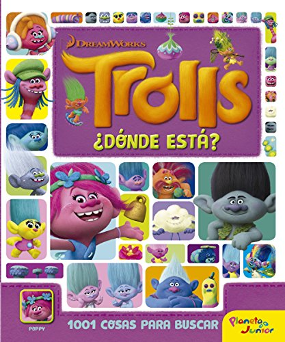 Trolls. ¿Dónde está?: 1001 cosas para buscar (Dreamworks)