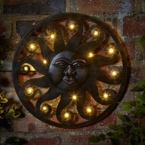Smart Garden LED Wall Art Celestial Sun