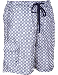 Sakkas Luca Checkered Patch Pocket Swim Trunk / Boardshort