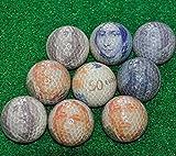 Greenly Golf (3Stück Set) USD $ + Euro & # €; + UK Britische Pfund £ Französischer Währung Geld Funny Neuheit Praxis Golf Ball Geschenk