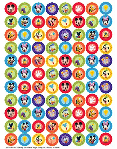 Eureka Mickey Mouse Clubhouse Köpfe Aufkleber, Mini (621002)