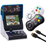 NEOGEO Mini Console + Black Controller + White Controller + HDMI Controller [Edizione: Regno Unito]