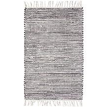 Teppich gestreift  Suchergebnis auf Amazon.de für: teppich schwarz weiß gestreift