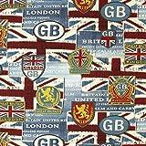 Fabulous Fabrics London GB - Meterware ab 0,5m - zum Nähen