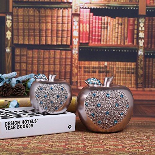 Home piggy bank festlich handwerk ersparnis geld topf kreativ groß apple piggy bank-A