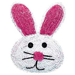 Bunny Face Wreath 19 Inch
