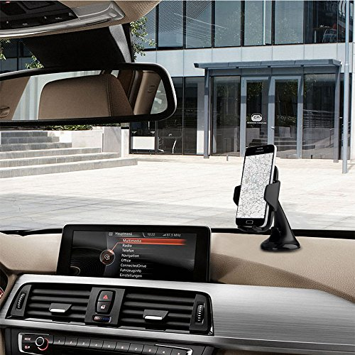 kranich qi wireless car charger auto ladeger t drahtlose kfz ladeger t induktive ladestation. Black Bedroom Furniture Sets. Home Design Ideas