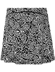 Honofash Falda de Golf Tenis Skort Mujer Negra Negra Pantalón Ropa Padel Running Corta Moda Deportivas