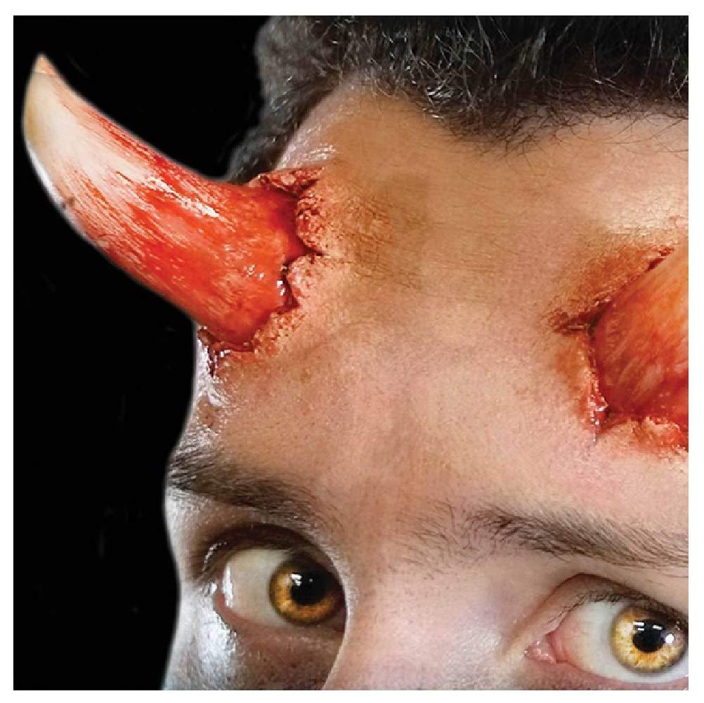 Fancy Me 3D Realistische Gore Special FX Wunde Halloween Horror Bühne Make-up Kleber und latexfreie Prothetische…