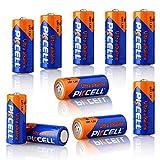 10 Stück PKCell E90 N LR1 MN9100 910 A 1,5 V AM5 Größe N Alkaline Batterien für Bluetooth Headsets, Glukose