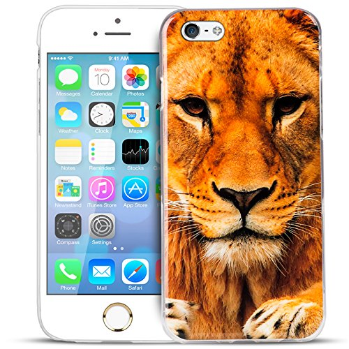iPhone 5C Cover Muster Case aus TPU Silikon Rückschale Bilder Backcover Motivcase Motiv 14