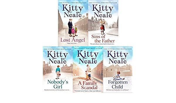 Kitty Neale 5 Book Set Lost Angel Sins Of The Father Nobodys