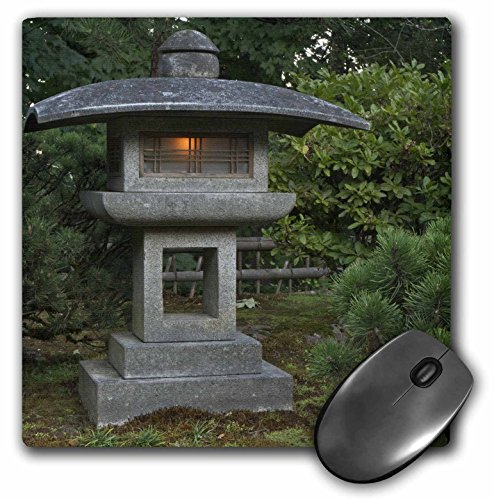 in Portland Japanese Garden, USA - US38 wsu0159 Maus Pad, 20,3 x 20,3 cm (MP 146369 _ 1) ()
