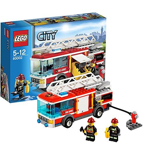 feuerwehrwache lego LEGO City 60002 - Feuerwehrfahrzeug