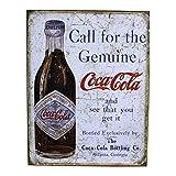 Unbekannt–Platte Coca Cola Alte Flasche Call For The Genuine USA