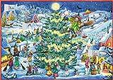 Wand-Adventskalender - Winterzauber im Hexendorf: Flora Flitzebesen