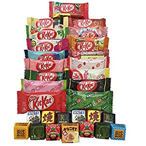 Japanese Kit Kat & Tirol 30 pc selection DIFFERENT FLAVORS assortment from sushi candy