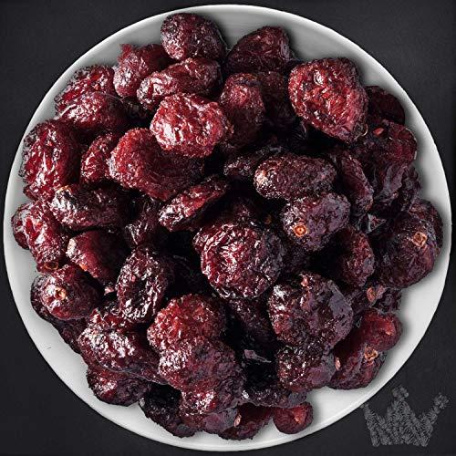 Cranberries Trockenfrüchte, Cranberry, ganze Frucht, leicht gezuckert, ohne Schwefel, 1kg - Bremer Gewürzhandel (Gezuckerte Künstliche Früchte)