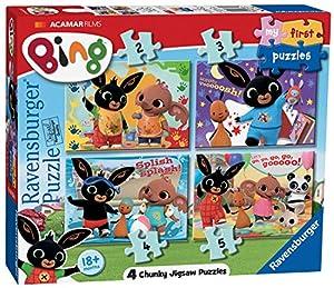 Rompecabezas Ravensburger 6834 First Bing Bunny (2, 3, 4 y 5 Piezas), Multicolor