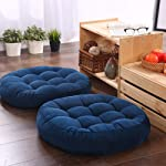 Round Floor Cushion,Elastic Suede Thicken Seat Cushion For Yoga Patio Office Outdoor Decorative Cotton Throw Pillow 1 Piece