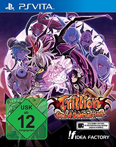 Trillion 1,000,000,000,000 God of Destruction - [PlayStation - M Vita Ps Spiele