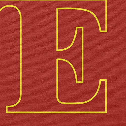 TEXLAB - Rebel Love - Herren Langarm T-Shirt Rot