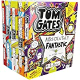 Tom Gates Collection Books Set (The Brilliant World of Tom Gates, Excellent Excuses, Everything's Amazing , Genius Ideas, Tom Gates is Absolutely Fantastic)