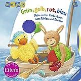 Grün, gelb, rot, blau: Mein erstes Farbenbuch zum Fühlen und Drehen Ab 24 Monaten (ministeps Bücher)