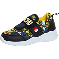 Pokemon Boys Trainers Kids Pikachu Easy Touch Fasten Sports Shoes Running Pumps Sneakers