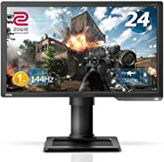 BenQ ZOWIE XL2411P 24 Inch 144Hz Esports Gaming Monitor | 1080P 1ms | Black eQualizer & Color Vibrance for Competitive Edge