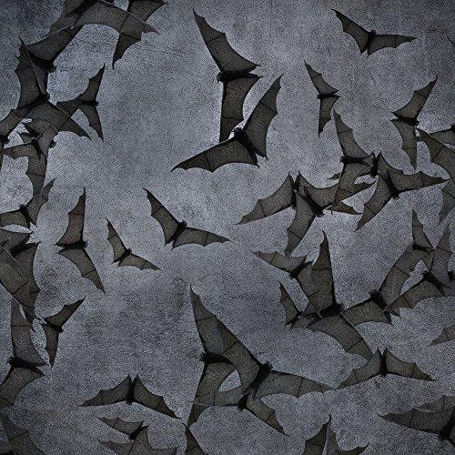 Apple iPhone 5 Housse Étui Silicone Coque Protection Chauve-souris Bat Vampire Étui en cuir marron