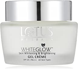 Lotus Herbals Whiteglow Skin Whitening and Brightening Gel Cream SPF-25, 60g