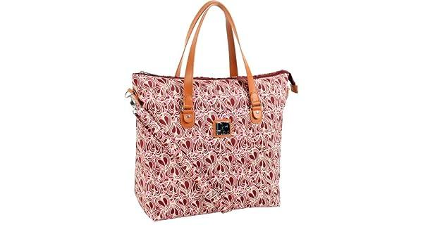 7b59b604c0 Diane Von Furstenberg Luggage Dvf Baby Hearts Vintage 16 Tote Bag ...