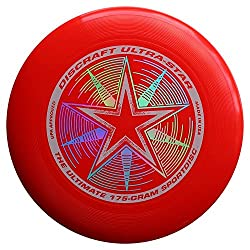 Discraft 175 G Ultrastar Frisbee (Bright Red)